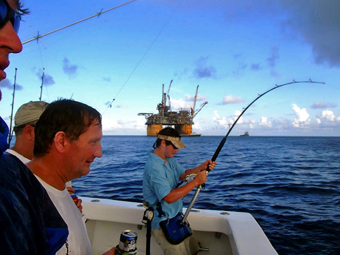 Twelve hours on a sport fishing charter boat will give you enough deep sea fishing time to get far enough out to catch just about anything you want to catch.
