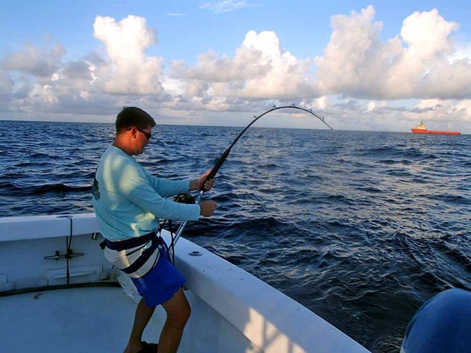 For serious sportfishermen, the Over-Night offshore deep sea fishing trip is the Only Way To Go!